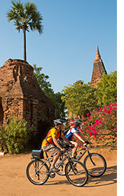 Myanmar biking photo